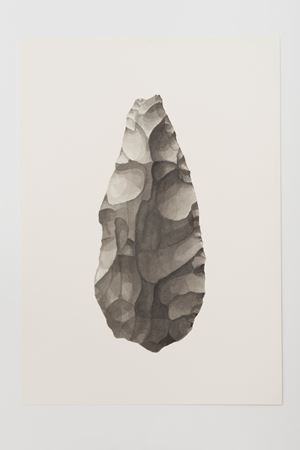 Ungrounded object 1 (Olduvai Axe III) by Frances Richardson contemporary artwork