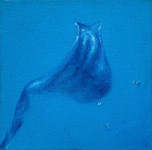 Blue Leaf No. 08 《藍色 . 葉 No. 08》 by WU Xiaohang contemporary artwork