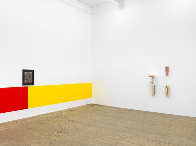 Exhibition view: Camille Blatrix, Pop-up, Andrew Kreps Gallery, Walker St, New York (29 January–6 March 2021). Courtesy the Artist and Andrew Kreps Gallery, New York Photo: Dan Bradica.