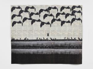 Cities Under Water V by Ibrahim Mahama contemporary artwork