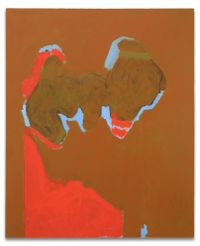 Remembering MadridAlternative Title: Open No. 106 by Robert Motherwell contemporary artwork mixed media