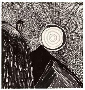 The Watcher by Matthew Wong contemporary artwork