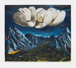 El valle at dusk by Ken Taylor contemporary artwork