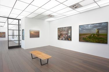 Exhibition view: Andrew Moore, New Works from Dirt Medirian and Cuba, Reflex Amsterdam (28 November–20 February 2016). Courtesy Reflex Amsterdam.