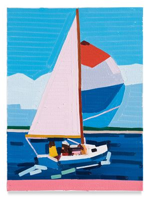 Sailing East by Guy Yanai contemporary artwork