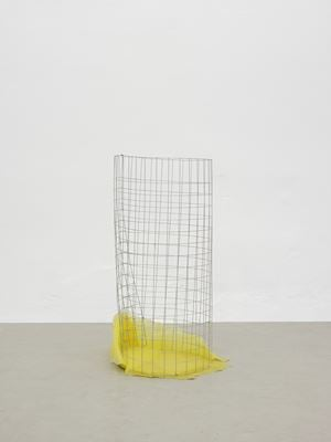 Waste Basket (bin for rejected ideas) by Nairy Baghramian contemporary artwork
