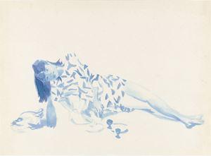 Hometown Boy Print Series #4 by Liu Xiaodong contemporary artwork