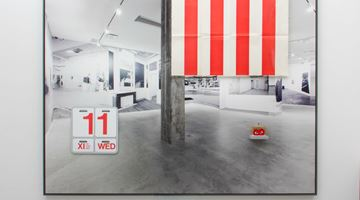 Contemporary art exhibition, Jonathan Monk, Not Me, Me at Lisson Gallery, Cork Street, London
