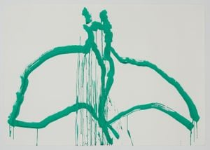 Ocean Drawing 5 by Joan Jonas contemporary artwork painting, works on paper, drawing