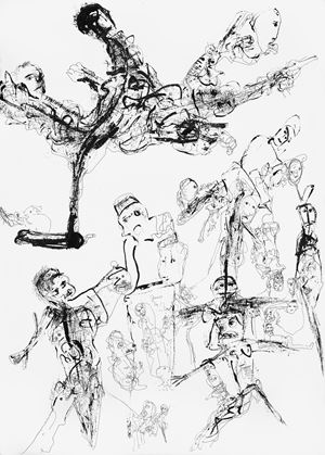 Untitled (Drawing 5) by P. R. Satheesh contemporary artwork