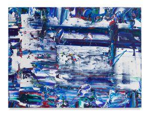 Blue Slide by Michael Reafsnyder contemporary artwork