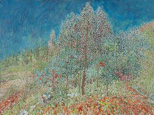 Guishan, Gum Tree Forest No.1 by Mao Xuhui contemporary artwork