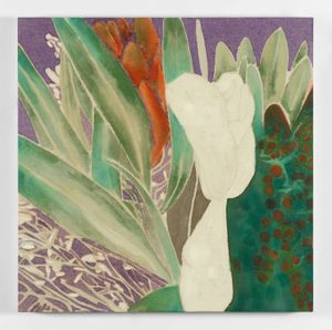Winter Flowers IX by Francesco Clemente contemporary artwork