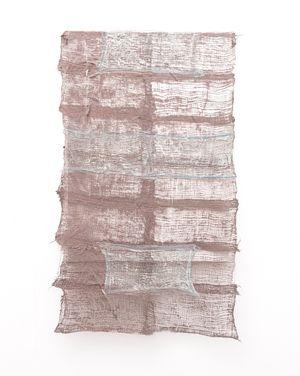 Residual Trace 201 / Brown, Blue by Pyda Nyariri contemporary artwork sculpture