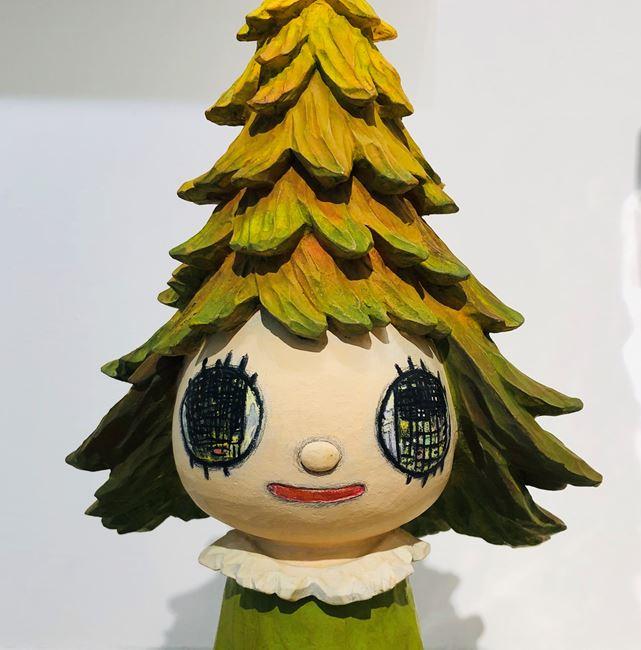 Mori Girl by Yoshitomo Nara contemporary artwork