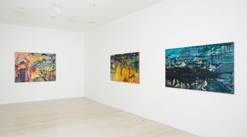 Contemporary art exhibition, Michael Taylor, New Paintings at Gallery 9, Sydney
