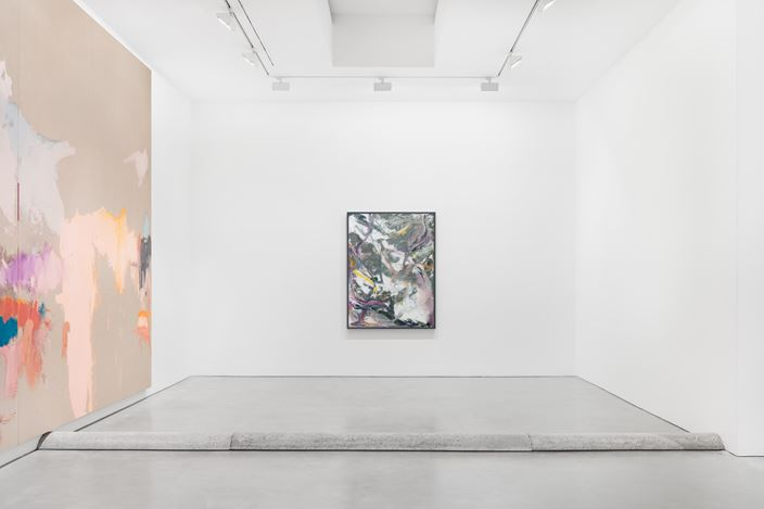 Exhibition view: Michael Müller, Aesthetic Judgement and Selflessness: exposing oneself to something with an empty gaze and without holding back, Galerie Thomas Schulte, Berlin (19 October–7 November 2020). Courtesy Galerie Thomas Schulte. Photo: Stefan Haehnel.