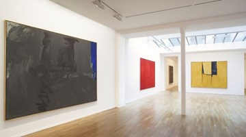 Contemporary art exhibition, Robert Motherwell, Open Series at Templon, 30 rue Beaubourg, Paris, France