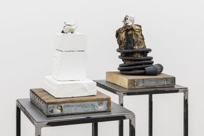 Exhibition view: Richard Porter, Night Glyph, Amanda Wilkinson, London (21 April–29 May 2021). Courtesy Amanda Wilkinson.