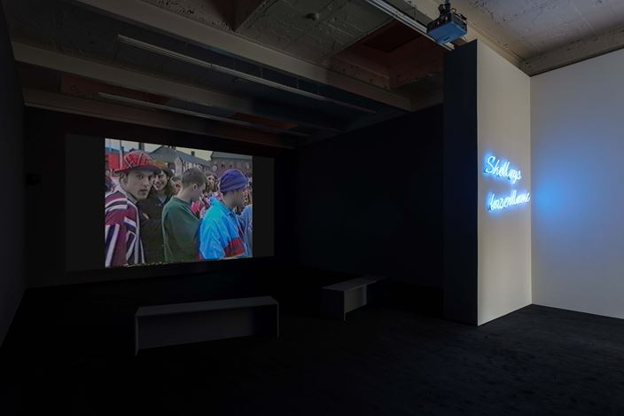 Jeremy Deller,Everybody in the Place: An Incomplete History of Britain 1984–1992(2018).Exhibition view: Jeremy Deller, Everybody in the Place: An Incomplete History of Britain 1984–1992, The Modern Institute, Aird's Lane, Glasgow (16 March–11 May 2019). Courtesy the Artist and The Modern Institute/Toby Webster Ltd, Glasgow. Photo: Patrick Jameson.