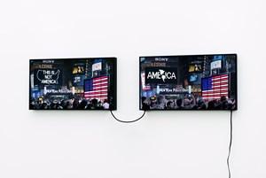 A Logo for America (1987-2014) by Alfredo Jaar contemporary artwork