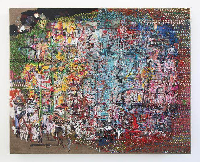 Clearing VI by Elliott Hundley contemporary artwork