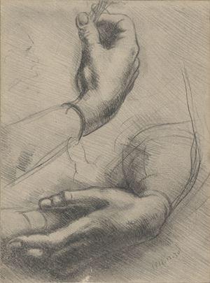 After Leonardo da Vinci by Chen Danqing contemporary artwork