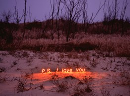 Jung Lee's Neon Text Installations at ONE AND J. Gallery