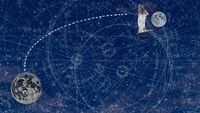 To: The Moon by Pamela Phatsimo Sunstrum contemporary artwork moving image