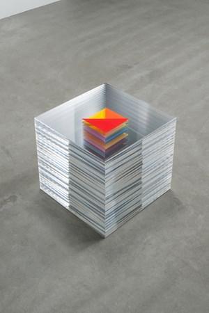 board paper board (half origami) by Tomii Motohiro contemporary artwork