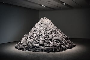 Welcome to the Future by Daniel Arsham contemporary artwork