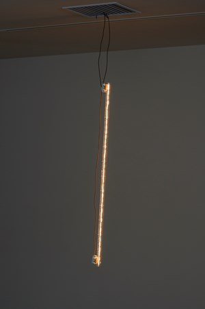 Nocturne... (Light/Sound) by Cerith Wyn Evans contemporary artwork