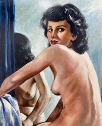 Francis Picabia's 'Femme nue devant la glace' Stands Out at Art Basel 2