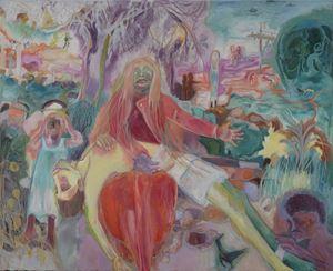Pietá by Sosa Joseph contemporary artwork painting, works on paper