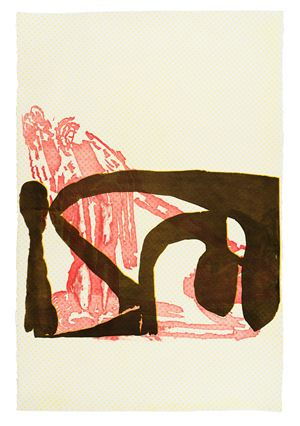 Dub Stamp (25) by Amy Sillman contemporary artwork