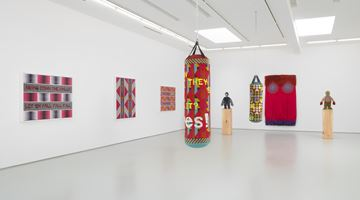 Contemporary art exhibition, Jeffrey Gibson, It Can Be Said Of Them at Roberts Projects, Los Angeles