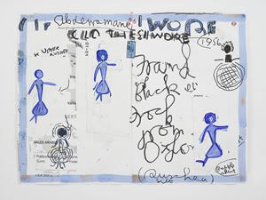 Clothes I Wore #21 by Rose Wylie contemporary artwork