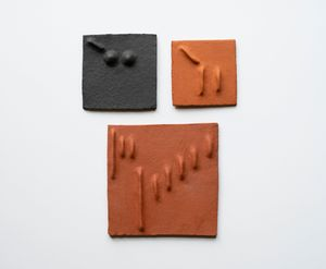 Pidgin Tiles Set 6 by Pyda Nyariri contemporary artwork sculpture