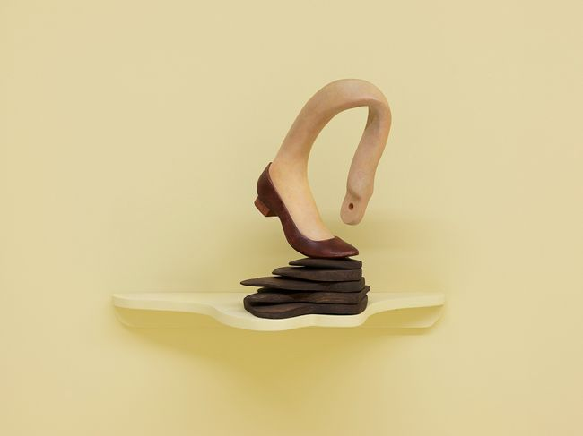 Off Balance by Liao Wen contemporary artwork