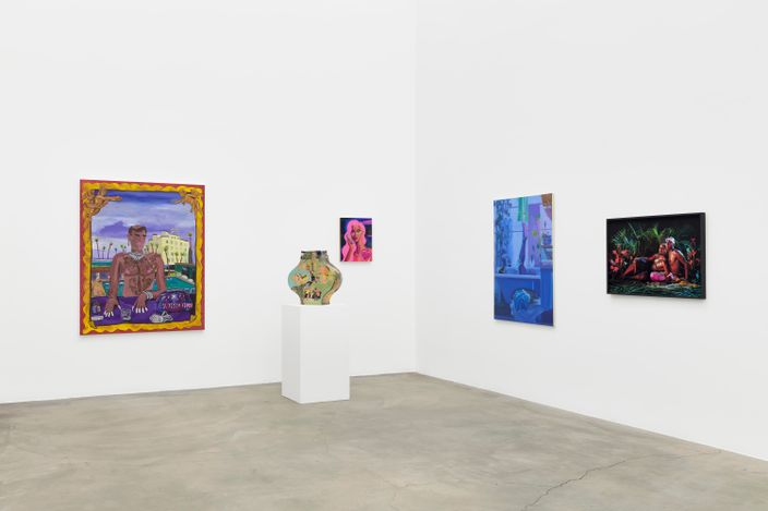 Exhibition view: Group Exhibition, It's Much Louder Than Before, Anat Ebgi, Culver City, 2660 S La Cienega Blvd (14 August–18 September 2021). Courtesy Anat Ebgi, Los Angeles.