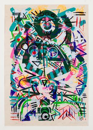 Emerge by Gerald Williams contemporary artwork