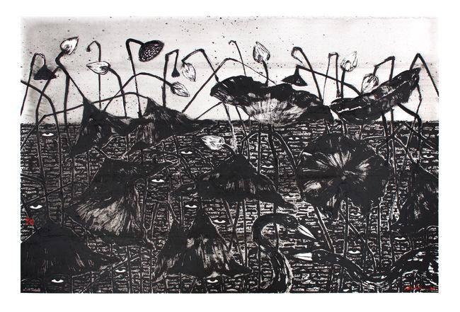 Sansāra 13 by Nuwan Nalaka contemporary artwork