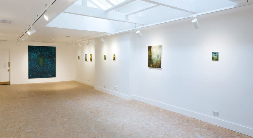 Exhibition view: Xie Lei / Christopher Orr,HdM GALLERY, London(31 October 2019–16 January 2020). Courtesy HdM GALLERY.