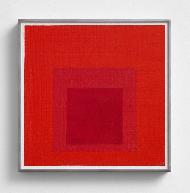 Homage to the Square by Josef Albers contemporary artwork
