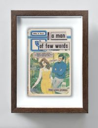 A Man Of Few Words by The Connor Brothers contemporary artwork painting, works on paper, photography, print