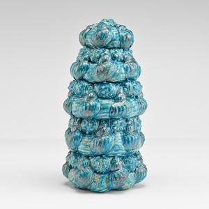 Sea urchin by Wietske Van Leeuwen contemporary artwork sculpture, ceramics