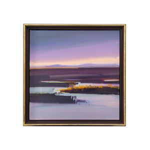 Winter evening, Forsinard Flows by Fred Ingrams contemporary artwork