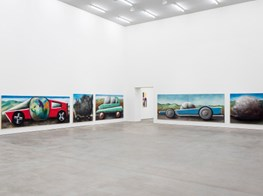 """Andreas Schulze presents """"Stau"""" at Sprüth Magers Gallery in Berlin"""