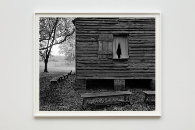 Cabin and Benches by Dawoud Bey contemporary artwork