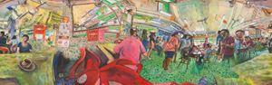 Kedai Kopi Li Fong by Chin Kong Yee contemporary artwork